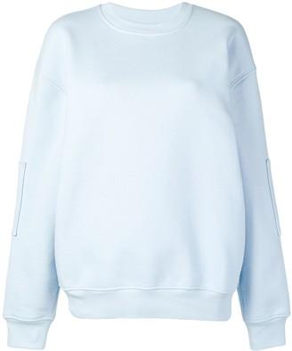 Courreges oversized logo sweatshirt