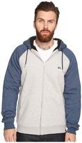 Quiksilver Block Outback Sherpa Zip Sweatshirt