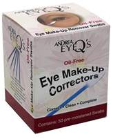 Andrea Eye Q'S Eye Make-Up Correctors Swabs 50 Count (2 Pack)