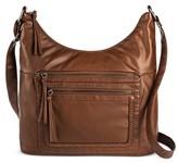 Bueno Women's Bueno Washed Crossbody Handbag - Brown Tan