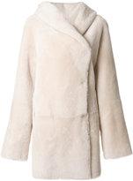 Sylvie Schimmel concealed fastening coat