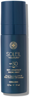 Soleil Toujours Organic Set & Protect Micro Mist SPF30