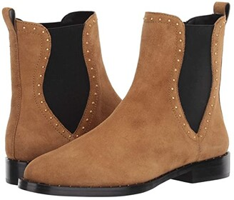 Rebecca Minkoff Sabeen (Military/Black Leather) Women's Boots