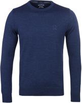 Paul & Shark Midnight Blue Crew Neck Sweater