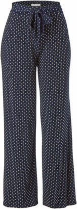 Chaus Women's Tie Waist Stamp Tile Pant