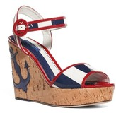 Dolce & Gabbana Women's Nautical Wedge Sandal