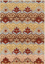 Horchow Lace Crown Rug, 5' x 8'