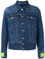 Kenzo 'House Reggae' denim jacket - men - Cotton/Polyamide/Polyester - M