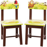 Guidecraft Set Of Two Jungle Party Chairs