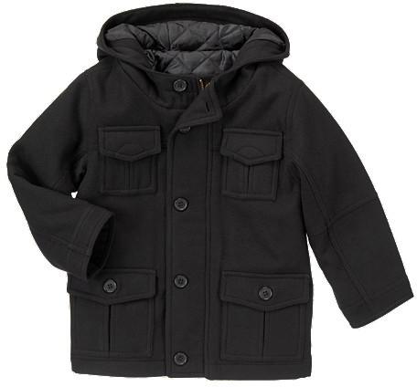 Gymboree Melton Cargo Hooded Jacket