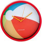 Kikkerland Beach Ball Wall Clock