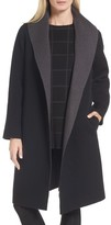 Eileen Fisher Women's Double-Face Wool Blend Coat