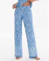 Soma Intimates Pajama Pants Parisian Fleur Riviera
