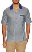 Solid & Striped Cotton Ripley Sportshirt
