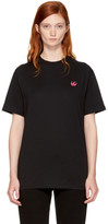 McQ Black Swallow Badge Classic T-Shirt