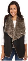 Velvet by Graham & Spencer Campbell03 Faux Fur Vest