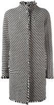 Gianluca Capannolo tweed coat - women - Polyamide/Acrylic/Virgin Wool - 42
