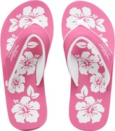 Board Angels Womens EVA Toe Post Sandals Pink/White