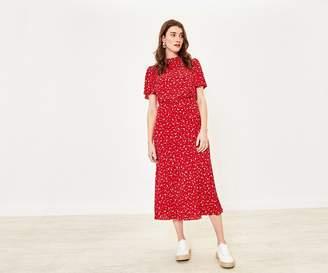 Oasis Ditsy Heart Midi Dress
