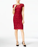 INC International Concepts Patterned Mesh Sheath Dress, Only at Macy's