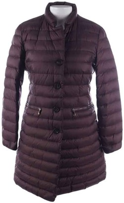 Moncler Brown Leather Jackets