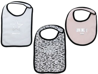 Givenchy Kids Set Of Three Bibs