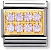 Nomination Pink Pave Classic Charm 030314/06