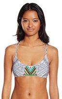 Rip Curl Women's Mayan Sun Printed Bralette Bikini Top