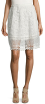 French Connection Freddy Lace Short Skirt