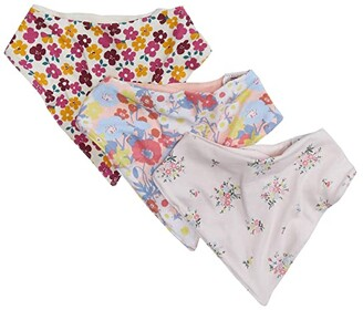 Cotton On 3-Pack Kerchief Bib (Petal Daze/Olivia Floral/Meadow Floral) Accessories Travel