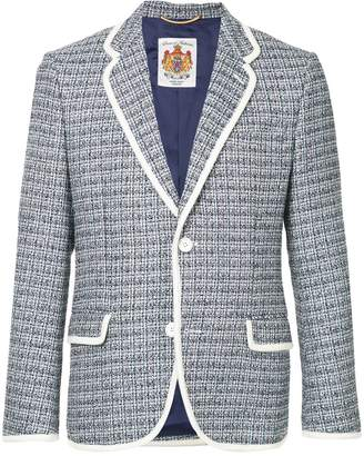 Education From Young Machines tweed blazer