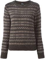 A.P.C. intarsia knit sweater