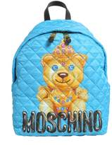 Moschino Teddy Bear Print Quilted Backpack