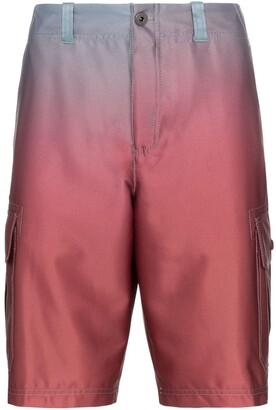 Sies Marjan Elias ombre cargo shorts