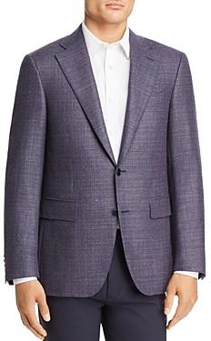 Canali Capri Textured Melange Slim Fit Sport Coat