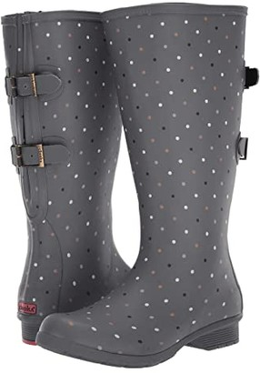 Chooka Versa Tonal Dot Tall Versa Boot (Grey) Women's Shoes