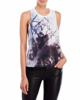 Religion Daze Printed Twist Back Tank