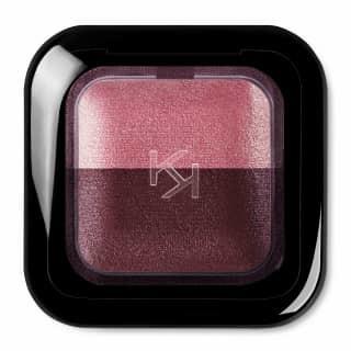 Kiko Milano Bright Duo Baked Eyeshadow 2.5G 13 Golden Peach - Pearly Burnt Sienna