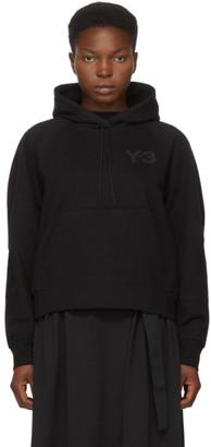 Y-3 Black Classic Chest Logo Hoodie