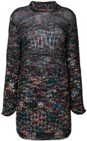 Missoni oversized roll neck jumper - women - Nylon/Cashmere/Mohair/Alpaca - 38