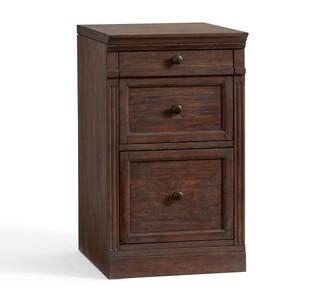 """Pottery Barn Livingston 17.5"""" 2-Drawer File Cabinet"""