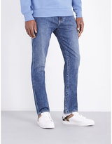 Burberry Slim-fit Tapered Stretch-denim Jeans