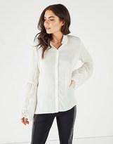 Vila Lace Sleeve Shirt