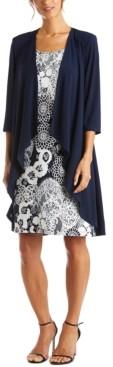 R & M Richards Printed Dress & Jacket
