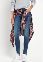 G Star Lynn Mid Rise Super Stretch Skinny Jean
