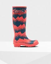 Hunter Women's Original Tall Storm Stripe Wellington Boots