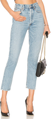 AGOLDE Riley High Rise Straight Crop. - size 23 (also