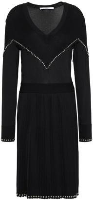 Givenchy Studded Stretch-knit Dress