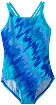Nike Girls' Splash Spiderback Tank One Piece Swimsuit (714) - 8152350