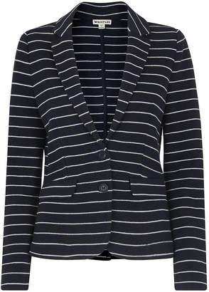 Whistles Stripe Jersey Jacket